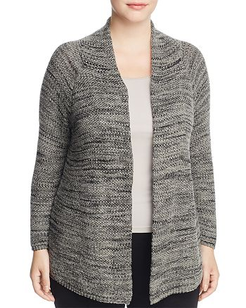NIC and ZOE Plus - Thick and Thin Marled Cardigan