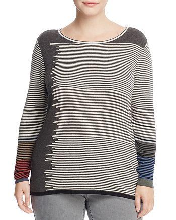 NIC and ZOE Plus - Metro Stripe Sweater