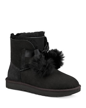 8b333c0df76d UGG® - Women s Gita Sheepskin   Fur Pom-Pom Booties ...