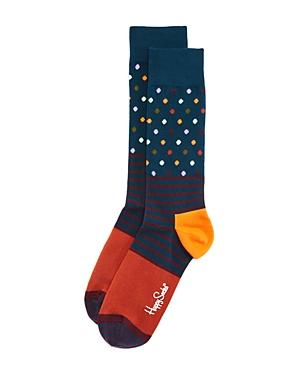Happy Socks Dotted Stripe Socks