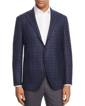 Eidos Tonal Check Slim Fit Sport Coat