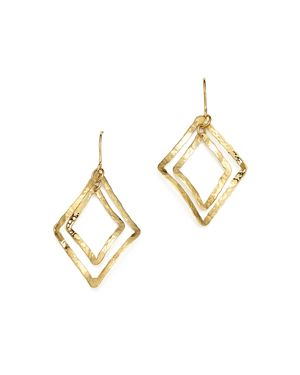 Bloomingdale's Hammered Lantern Earrings in 14K Yellow Gold - 100% Exclusive