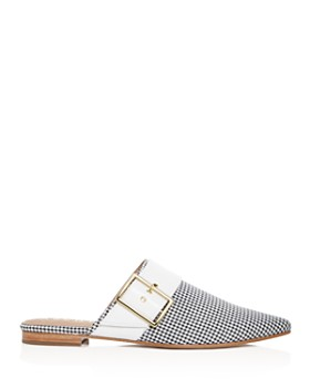Archive - Women's Bond Leather Pointed Toe Slide Mules