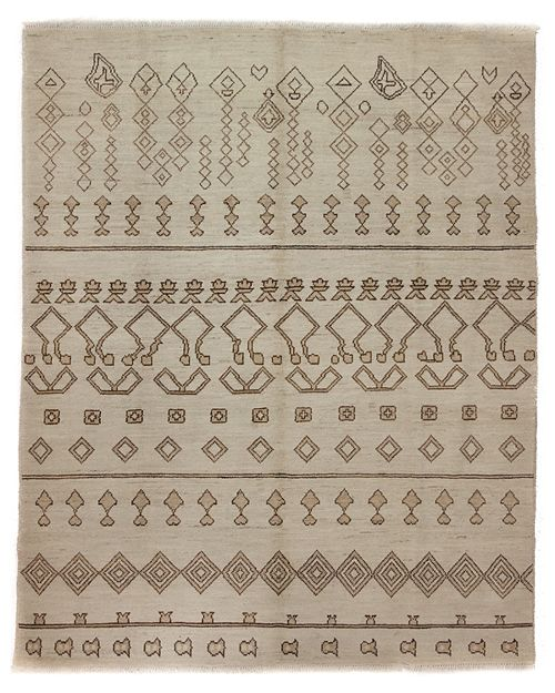 "Solo Rugs - Moroccan Area Rug, 10' 3"" X 8' 3"""
