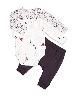 Click here for Miles Baby Girls Bodysuits & Jogger Pants Set - Ba... prices