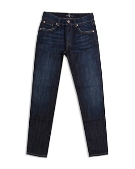 7 For All Mankind - Boys' Slimmy Slim Straight Jeans - Big Kid
