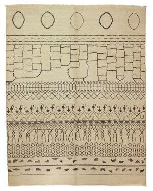 Solo Rugs Moroccan Area Rug, 7'10 x 10'2