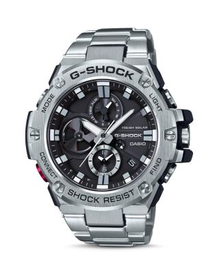 G-SHOCK MEN'S STAINLESS STEEL BRACELET WATCH 53.8MM