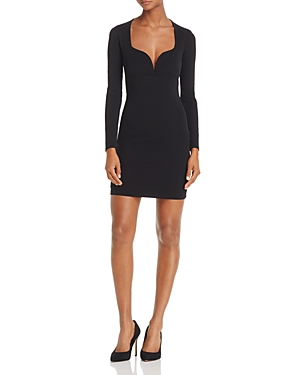 Nookie Madonna Long-Sleeve Mini Dress