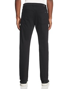 7 For All Mankind - Annex Straight Fit Jeans in Black
