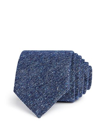 The Men's Store at Bloomingdale's - Textured Woven Skinny Tie - 100% Exclusive