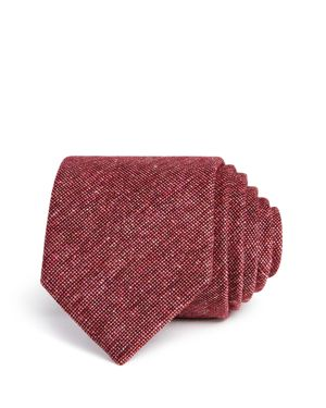 The Men's Store at Bloomingdale's Textured Woven Skinny Tie - 100% Exclusive thumbnail