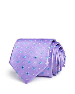 The Men's Store at Bloomingdale's Floret Dot Neat Classic Tie - 100% Exclusive