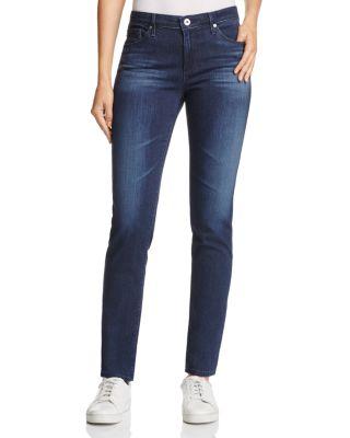 'The Prima' Mid Rise Cigarette Skinny Jeans in Gallant