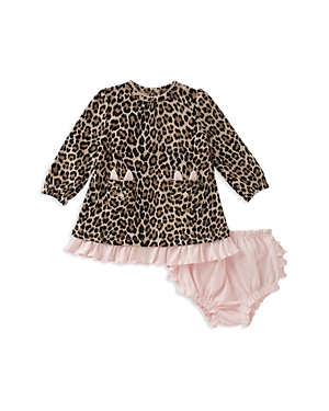 kate spade new york Girls' Animal Print Top & Bloomers Set - Baby