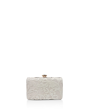Sondra Roberts Lace Box Clutch