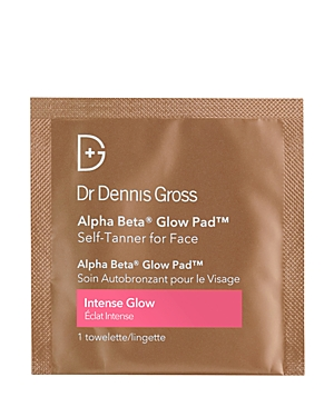 Dr Dennis Gross Skincare Alpha Beta Intense Glow Pad Self-Tanner for Face