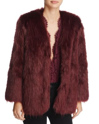 $Lovers and Friends Adora Faux-Fur Jacket - Bloomingdale's