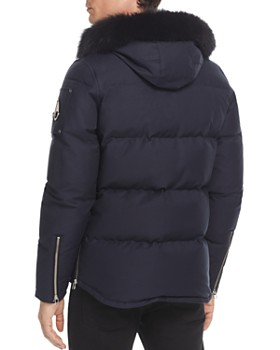 Moose Knuckles - 3Q Fur Trim Hooded Down Jacket