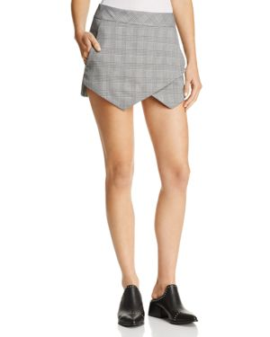 Aqua Plaid Skort - 100% Exclusive