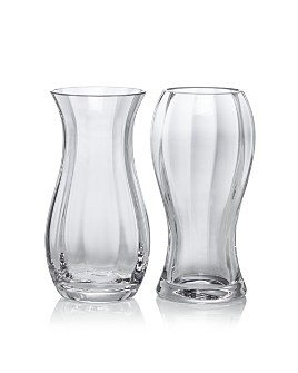 Dartington - Bonnie and Clyde Vases, Set of 2 - 100% Exclusive Product Description