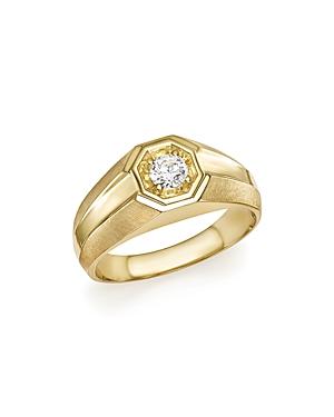 Bloomingdale's Diamond Men's Ring in 14K Yellow Gold, .25 ct. t.w. - 100% Exclusive