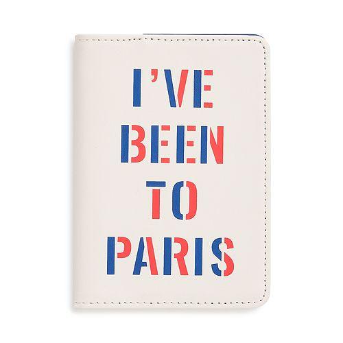 ban.do - I've Been to Paris Getaway Passport Holder