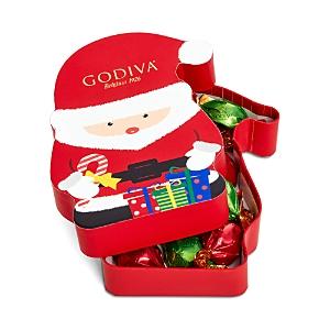 Godiva 8 Piece Santa Box