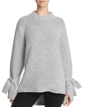 JOA - Tie Sleeve Sweater