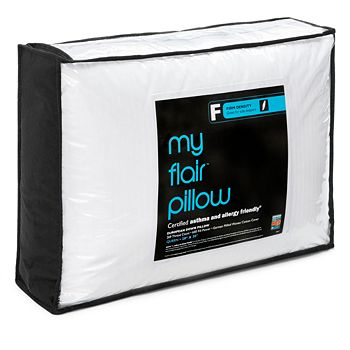 Bloomingdale's - My Flair Asthma & Allergy Friendly Firm Pillow, Queen - 100% Exclusive
