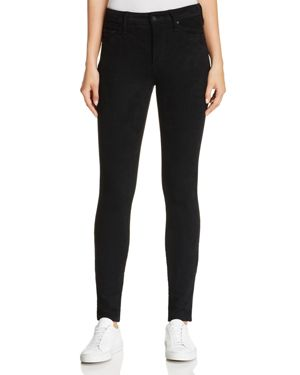 Mother High-Rise Slim Looker Jeans in Tricks of the Trade
