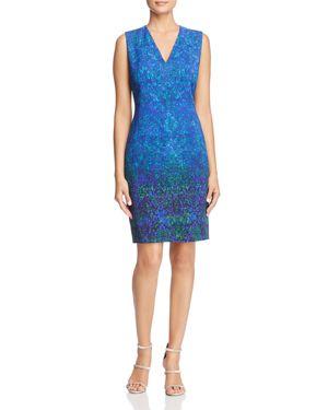 Elie Tahari Roanna Printed Sheath Dress - 100% Exclusive