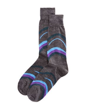 The Men's Store at Bloomingdale's Abstract Swirl Socks
