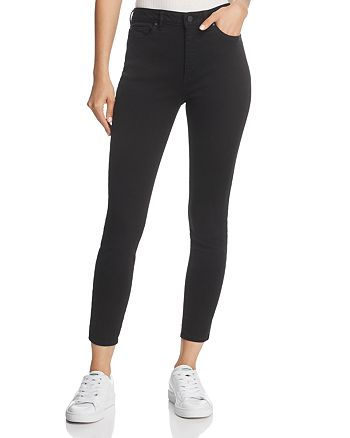 DL1961 - Chrissy High-Rise Ankle Skinny Jeans in Ink Black