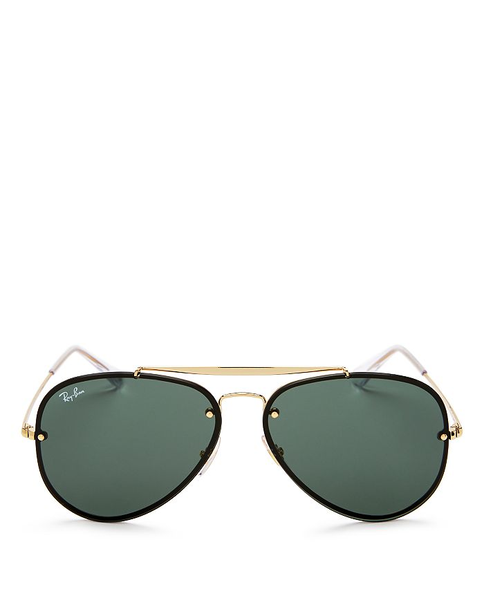 Ray-Ban - Unisex Blaze Aviator Sunglasses, 61mm