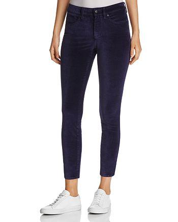 NYDJ - Petites Ami Velvet Skinny Legging Jeans in Navy - 100% Exclusive