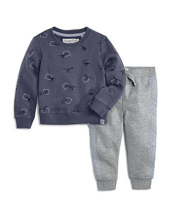 Sovereign Code - Boys' Dino-Print Sweatshirt & Jogger Pants Set - Baby