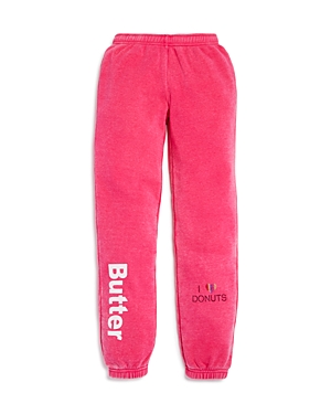 Butter Girls I Love Donuts Varsity Joggers Big Kid  100 Exclusive