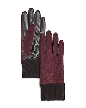 Ugg Wool & Leather Tech Gloves