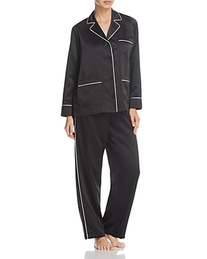 Lauren Ralph Lauren Satin 3-Pocket Pj Set