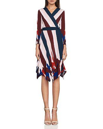 BCBGMAXAZRIA - Isabella Asymmetric Wrap Dress