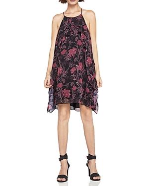 BCBGeneration Floral Print Chiffon Dress