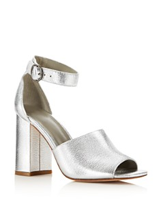 Joie - Women's Lahoma Leather High Block Heel Sandals