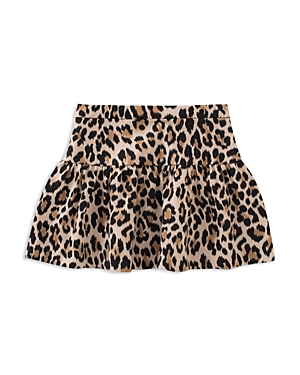 Girls Kate Spade New York Leopard Print Skirt