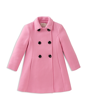 kate spade new york Girls' Bow-Back Coat - Big Kid