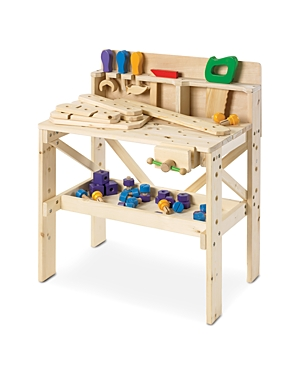 Fao Schwarz Wooden Toy Workbench  Ages 3