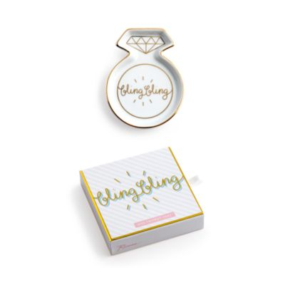 $Rosanna Charming Moments Bling Bling Porcelain Ring Dish - Bloomingdale's