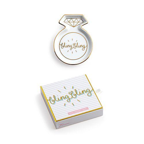 Rosanna - Charming Moments Bling Bling Porcelain Ring Dish