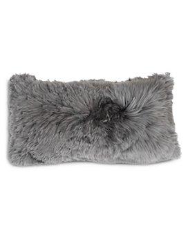 "Mitchell Gold Bob Williams - Alpaca Silver Pillow, 22"" x 11"""