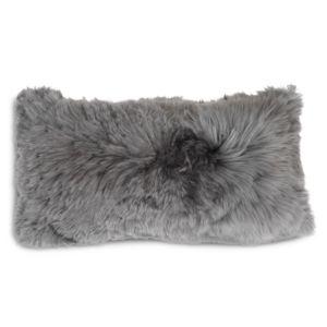 Mitchell Gold Bob Williams Alpaca Silver Pillow, 22 x 11